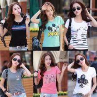 便宜服装批发 几元女t 库存女式T恤 韩版女装短袖批发 夏季热卖女装上衣