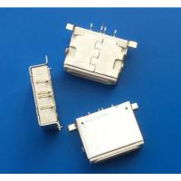 苹果4P贴片母座SMT前插后贴Lightning输出输入插座 180度