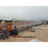 蓝白交通铁栅栏 公路栏杆 中央隔离栏 市政道路栏杆