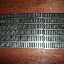 滚针排 平面直线轴承 电梯专用 排状平面轴承 L25