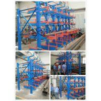泸州放管材的悬臂式货架 可伸缩摇出 新型悬臂式货架