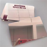 深圳智能卡厂家供应镜面卡抛光镜面pvc卡塑料印刷卡片