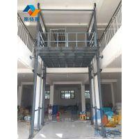 厂家专业订做江西南昌固定导轨式升降货梯液压升降台