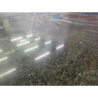 佛山三水~高明混凝土地面起砂处理+车间地面抛光+混凝土渗透地坪
