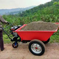 养殖场粪便清理动力斗车 易途牌800型汽油推车