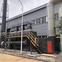 河北富宏元西安催化燃烧设备喷漆房废气处理3万风量装置