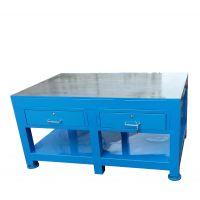 佛山电木板模具维修专用台,非标定制钳工钢板台,道滘飞模台加厚铸铁平台