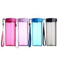 璀璨塑料杯厂家定做广告塑料杯加厚耐高温 pp乐扣杯天地盖101-200ml