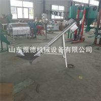 管式螺旋绞龙上料机 厂家 加工定制 螺旋输送机 物料提升机 振德
