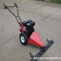 汽油绿篱机修剪机 富兴手推式自动园林割草机 18寸草坪修剪机厂家价格
