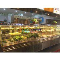 川西坝子火锅店保鲜柜,上海自助火锅烤肉点菜柜,徽点明档选菜配菜柜