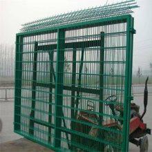 桃型柱护栏网 折弯围栏网 围墙护栏网
