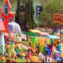 阳光农场又名欢乐农场新型儿童游乐场设备摩托车座舱高档游艺设施