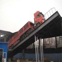 厂家定做卸车自动翻板升降机 液压翻板自动卸车机