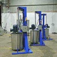 鑫宝直供湖北 液体分散机 实验室分散机 胶水搅拌机 质量可靠 闪电发货