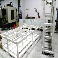 大型机械设备机架机柜支架货架焊接烤漆喷涂全包CNC加工 东莞深圳