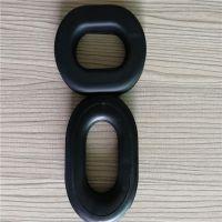 辉晟专业生产头戴式耳机海绵耳套 电压PU皮海绵耳套