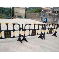 塑料围栏 塑料铁马材质规格1.6米跟1.4米 深圳东莞厂家现货直销质量保证