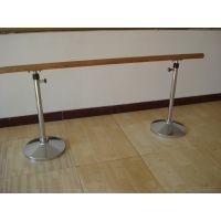舞蹈房专用压腿移动 固定 壁挂式升降把杆厂家 铸铁大底座 电镀舞蹈把杆 利伟体育