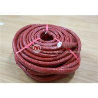 厂家大量供应优质 高温防火硅橡胶盘根 玻纤绳 宁国鑫茂生产
