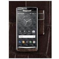 私人定制 5.2寸 威图vertu手机 蓝宝石原装屏 蟒蛇皮 6G/128G 双卡双待 高端商务手机
