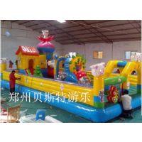 湖南永州儿童充气滑梯造型多样质量靠谱