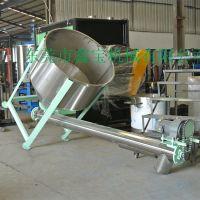 肇庆螺旋输送机 小型提升机 食品粉末加料机生产厂家