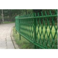 开封仿竹节围栏,201开封仿竹隔离围栏,HC锌钢围墙栏杆,双边丝网片护栏,京式道路隔离栏