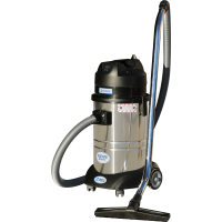 三马达洁力德 工厂车间 粉尘 干湿两用工业吸尘器80L
