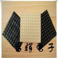 批发透明胶垫3M防滑自粘高透明硅胶垫半球形玻璃胶垫黑色防撞脚垫