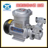 高温防爆热油泵 WM-033EX泵 0.25KW小型热油防爆泵