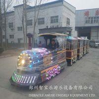智宝乐游乐设备厂家直销全新ZBL-WGHC04款无轨观光小火车