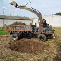 农用车加装挖掘机多少钱一台