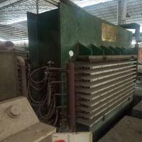 9成新 山东荷泽产4x8尺10层2手木工热压机出售