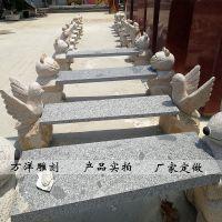 石雕动物长条石凳大理石户外园林休闲小动物座椅曲阳万洋雕刻厂家现货销售定做