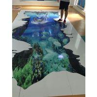 瓷砖地板UV平板打印机多少钱一台