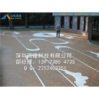 石家庄彩色透水混凝土路面铺装施工 交地透水地坪材料销售