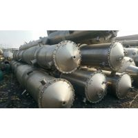 10吨三效钛材废水硫酸钠蒸发器 二手强制循环污水浓缩器 买二手蒸发器 选择梁山沃德 价格低质量优