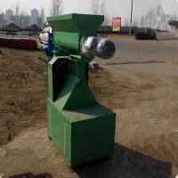 玉米秸秆的回收利用设备 新型锅炉燃料 环模颗粒机生产厂