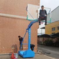 校园篮球架哪里有卖 江门钢化篮球板安装 柏克埋地式篮球架价格