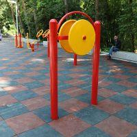 江门市供应小区健身器材 臂力训练器 柏克健身器材厂家