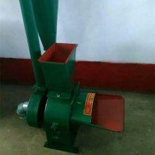 粉碎花生秧玉米秸秆的机械 大型锤片式粉碎机 高产量的沙克龙打糠机
