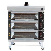 商用蛋糕烤箱 三层十二盘蛋糕烤箱