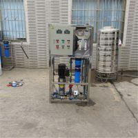广州厂家直销水处理纯净水设备主机 0.25吨不锈钢配置找晨兴制造
