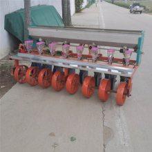 花生精播起垄机 四轮拖拉机带花生精播机 花生播种盖膜机