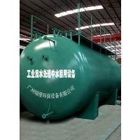 高难度化工废水处理中水回用设备一体化圆罐型超声波电芬顿废水处理净化系统