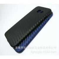 三星Galaxy A5碳纤纹手机套 A520 超薄磨砂PP壳