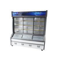 商用厨房保鲜冷藏设备山西杭冠1.8米点菜柜