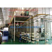 悬挂输送喷涂设备生产线流水线