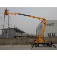 曲臂式升降机--移动式升降台选济南龙腾知名品牌